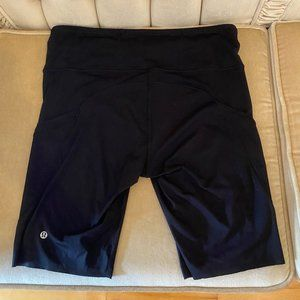 """Lululemon Fast and Free 10"""" Short in Black"""